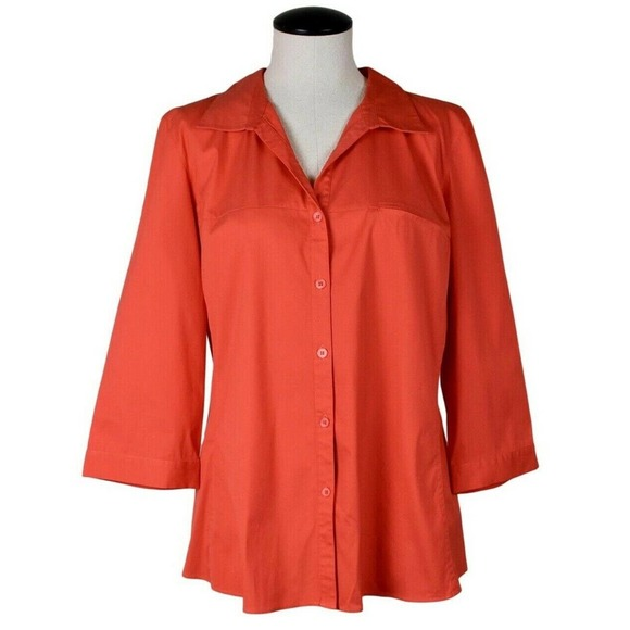 Lafayette 148 New York Tops - NEW LAFAYETTE 148 Paget Button Down Blouse